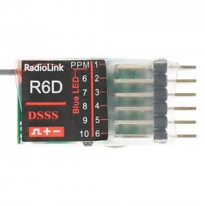 Radiolink R6D 6-CH 2.4GHz DSSS Receiver