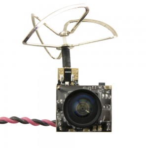 Lumenier Super Mini 5.8GHz FPV 25mW Transmitter + 600TVL Camera + CP Antenna