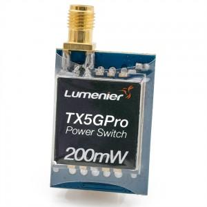Lumenier TX5GPro Mini 200mW 5.8GHz FPV Transmitter with Power Switch