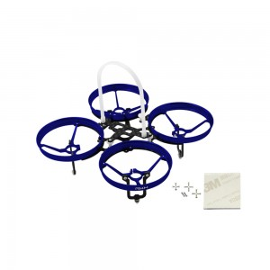 Rakonheli CNC AL and CF Upgrade Kit (7mm motor) (Blue)