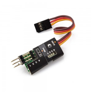 FrSky SBUS to PWM Decoder with Pins