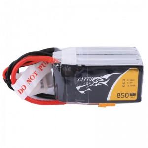 Tattu 850mAh 14.8V 75C 4S1P Lipo Battery Pack (XT30)
