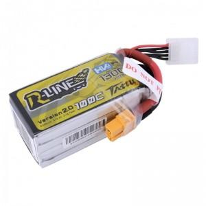 TATTU R-Line 1300mAh 4s 100c Lipo Battery V2