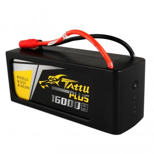 Tattu Plus 16000mAh 22.2V 15C 6S Lipo Smart Battery Pack