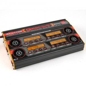 Turnigy Reaktor QuadKore 1200W 80A (4 X 300W 20A) DC Synchronous Balance Charger/Discharger