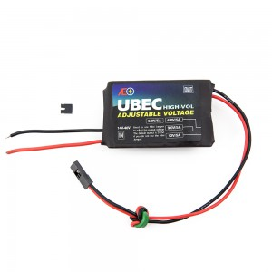 UBEC High Voltage - Adjustable 6V, 9V, 12V at 5A (14-40V Input)