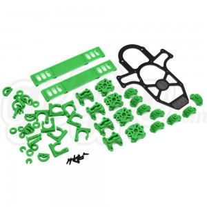 Vortex Plastic Crash Kit - Lime Green