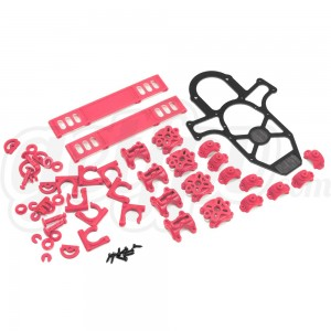 Vortex Plastic Crash Kit - Hot Pink