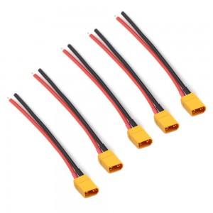 XT30 Lipo Pigtail 16AWG (5pcs)