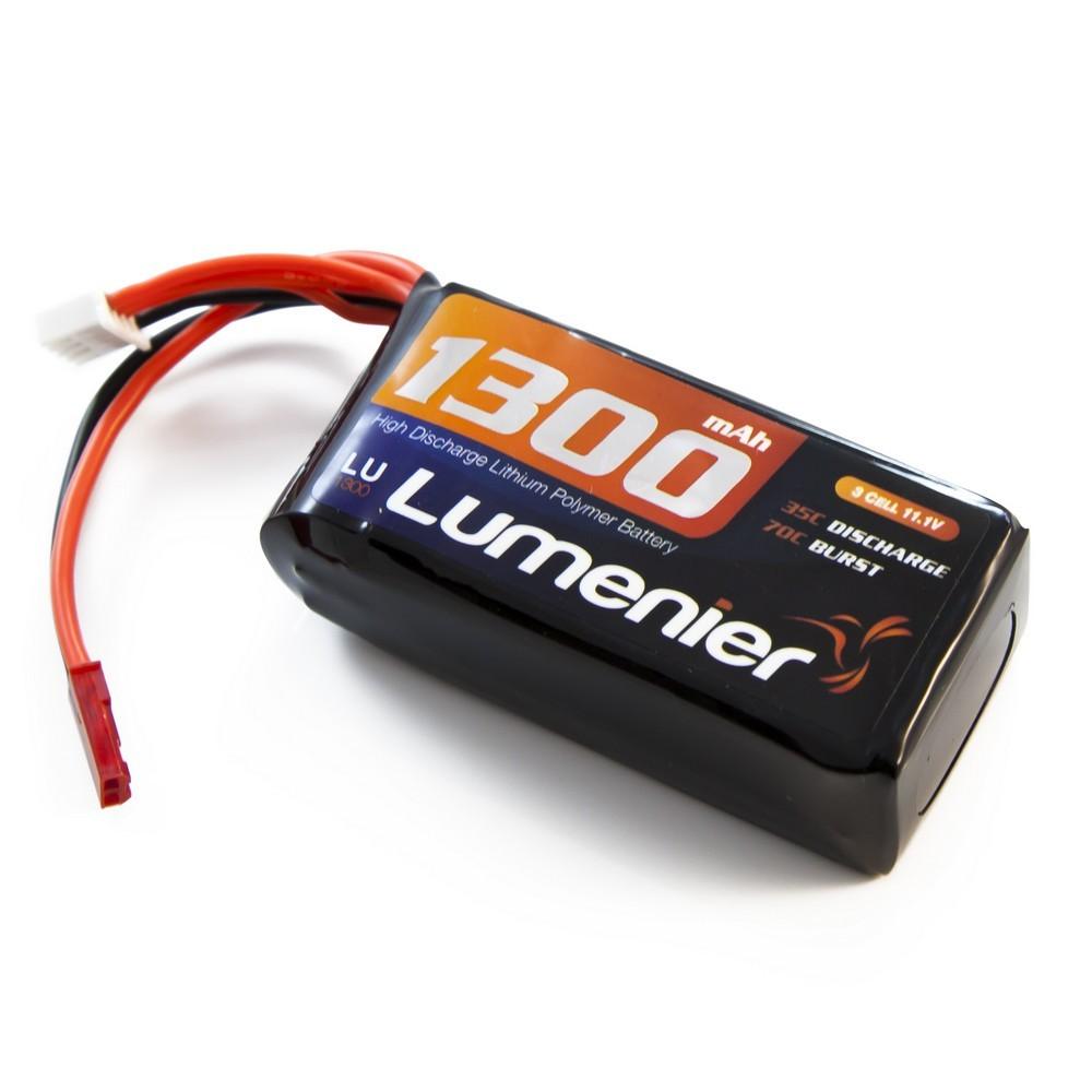 Lumenier 1300mAh 3s 35c Lipo Battery (JST)