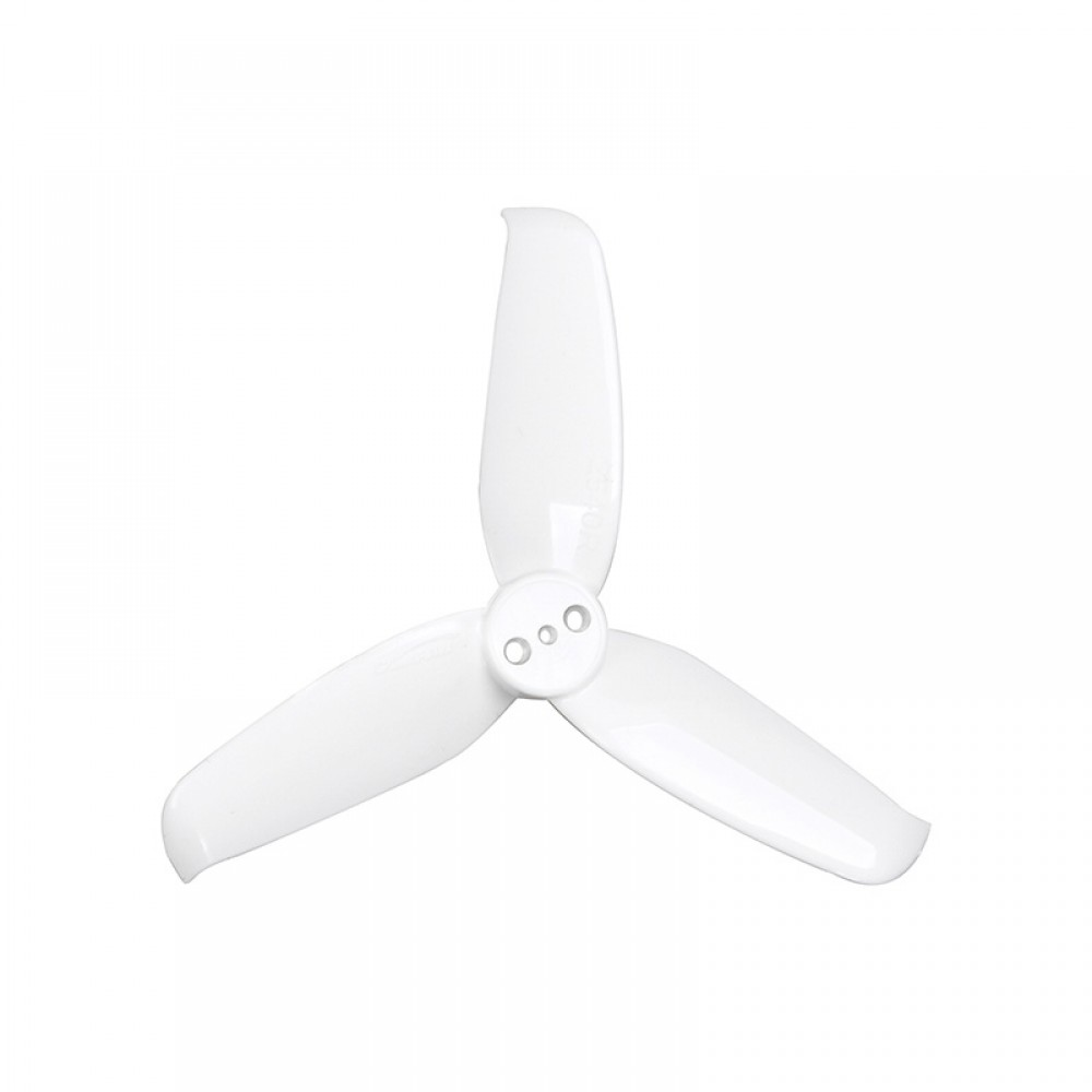 Gemfan Flash 2540 Durable 3 Blade (White) - Set of 8