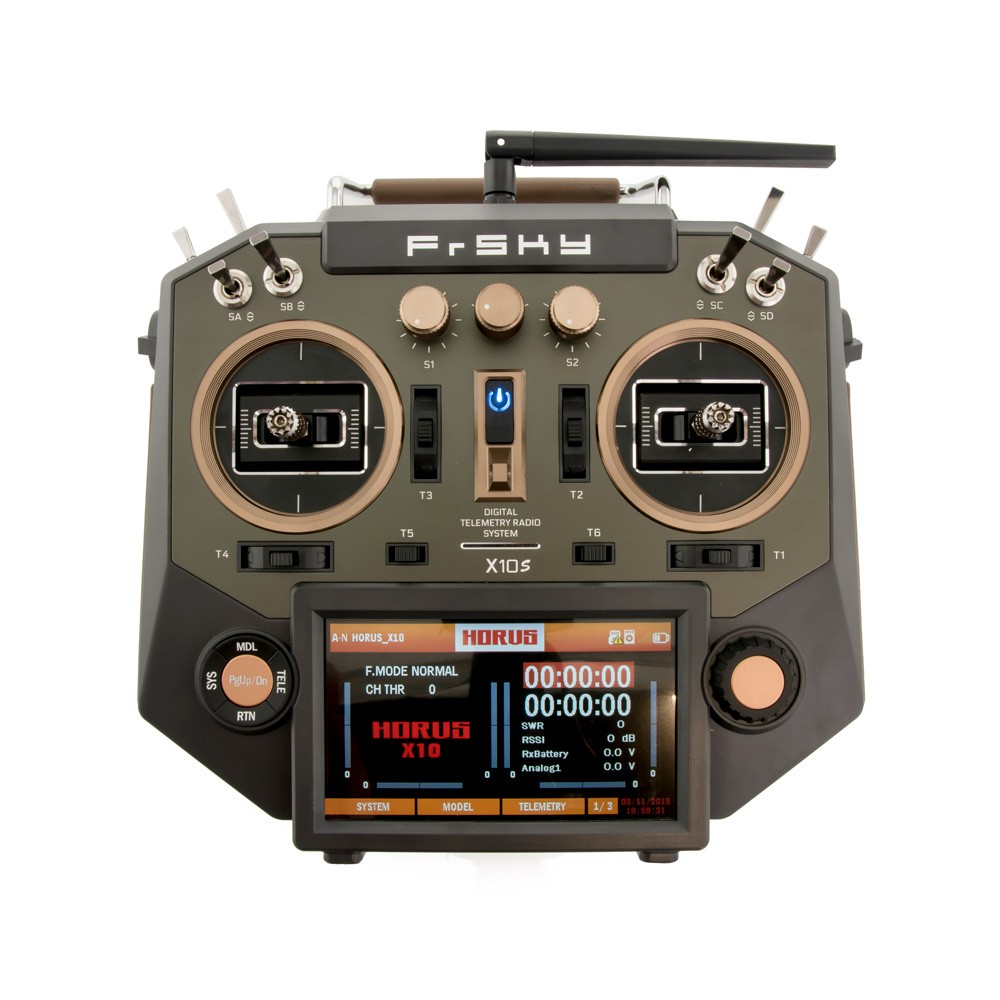 FrSky Horus X10S Radio (Amber) Combo w/ R9 Module
