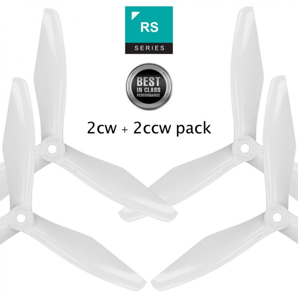 Master Airscrew RS-3Blade - 5x4.5 Prop Set X4 - White