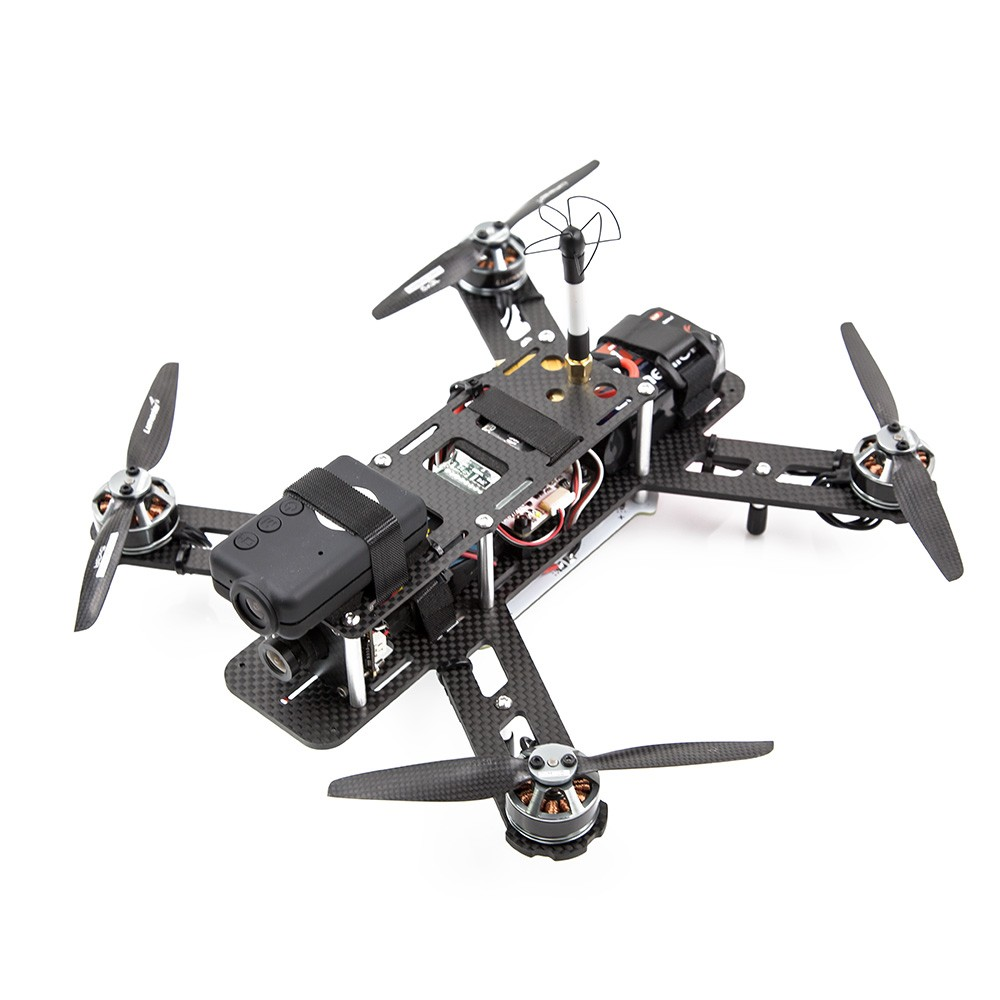 Shown full built with electronics and FPV gear.