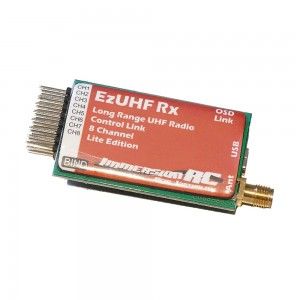 ImmersionRC EzUHF Receiver, 8 channel 'lite'
