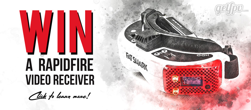 ImmersionRC rapidFIRE Giveaway